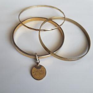 🌻2/$24 Kate Spade Bangle Bracelet, 3 Piece Set